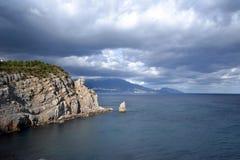 krajobrazowy morze Zdjęcia Stock
