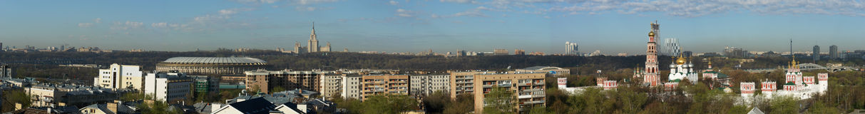 krajobrazowy Moscow Obrazy Stock