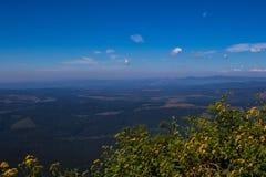 Krajobrazowy Mpumalanga Południowa Afryka od cudu widoku punktu obserwacyjnego Zdjęcia Stock