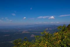 Krajobrazowy Mpumalanga Południowa Afryka od cudu widoku punktu obserwacyjnego Fotografia Royalty Free