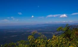 Krajobrazowy Mpumalanga Południowa Afryka od cudu widoku punktu obserwacyjnego Zdjęcia Royalty Free