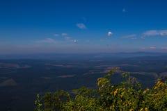 Krajobrazowy Mpumalanga Południowa Afryka od cudu widoku punktu obserwacyjnego Zdjęcie Stock