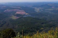 Krajobrazowy Mpumalanga Południowa Afryka od cudu widoku punktu obserwacyjnego Obrazy Stock