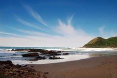 krajobrazowy nadmorski Zdjęcie Royalty Free