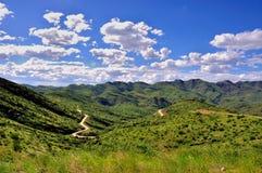 krajobrazowy Namibia Fotografia Royalty Free