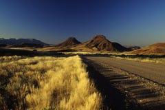 krajobrazowy Namibian zdjęcie royalty free
