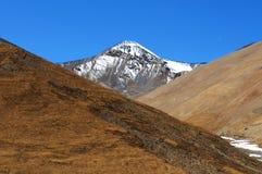 krajobrazowy naturalny Tibet Fotografia Royalty Free
