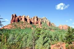 krajobrazowy natury skały sedona Zdjęcie Royalty Free