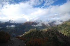 krajobrazowy nepali Fotografia Royalty Free