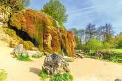 Krajobrazowy niemiec Eifel Dreimà ¼ hlen siklawę obrazy stock
