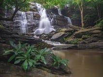 Krajobrazowy niewidziany Tajlandia siklawy natury widok Obraz Stock