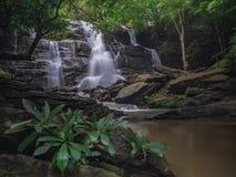Krajobrazowy niewidziany Tajlandia siklawy natury widok fotografia royalty free
