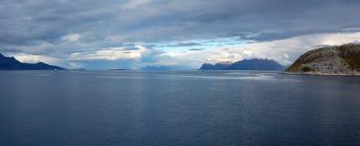 krajobrazowy nordic Zdjęcia Royalty Free