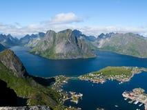 krajobrazowy Norway obrazy royalty free