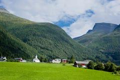 krajobrazowy Norway Obrazy Stock