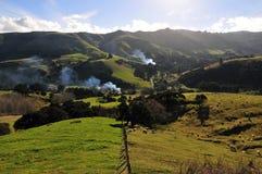 krajobrazowy nowy Zealand Obraz Royalty Free
