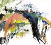 krajobrazowy obraz ilustracja wektor