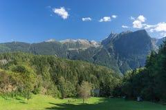Krajobrazowy ochrona terenu Achstà ¼ rze Jeziorny Piburger Widzii, Tirol natury stare prezerwy Obraz Royalty Free