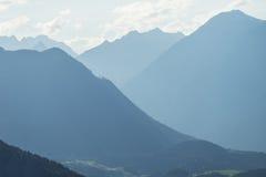 Krajobrazowy ochrona terenu Achstà ¼ rze Jeziorny Piburger Widzii, Tirol natury stare prezerwy Fotografia Royalty Free