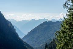 Krajobrazowy ochrona terenu Achstà ¼ rze Jeziorny Piburger Widzii, Tirol natury stare prezerwy Fotografia Stock