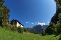 Krajobrazowy ochrona terenu Achstà ¼ rze Jeziorny Piburger Widzii, Tirol natury stare prezerwy Oetz alps Zdjęcia Royalty Free