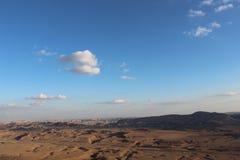 Krajobrazowy outside Mizpe Ramon, Izrael Obraz Stock