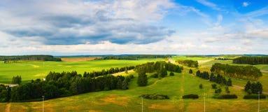 krajobrazowy panoramiczny lato Obraz Stock