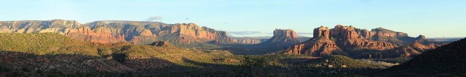 krajobrazowy panoramiczny sedona obraz stock