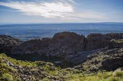 Krajobrazowy panoramiczny widok Obraz Royalty Free