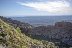 Krajobrazowy panoramiczny widok Fotografia Stock