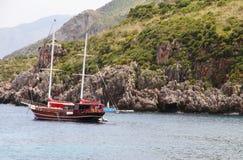 krajobrazowy panoramy rezerwy zingaro Fotografia Stock