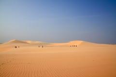 krajobrazowy piasek Vietnam Zdjęcie Stock