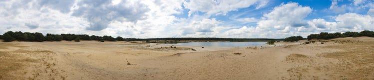 krajobrazowy piaskowaty Zdjęcia Royalty Free