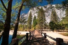 krajobrazowy pictur sceniczny wibrujący Yosemite zdjęcia royalty free