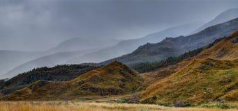 Krajobrazowy pobliski Loch Garry Fotografia Stock