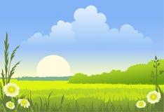krajobrazowy pogodny Zdjęcia Stock