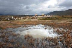 krajobrazowy porcelany shangrila Yunnan Zdjęcie Royalty Free