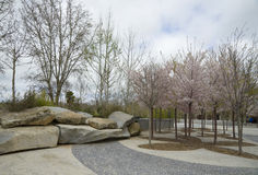Krajobrazowy projekt, Madryt Obrazy Stock