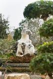 Krajobrazowy projekt w Milion rok kamienia parka w Pattaya, Tajlandia Obraz Royalty Free