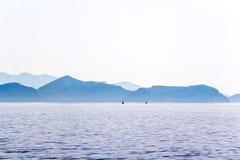 krajobrazowy śródziemnomorski Fotografia Royalty Free