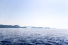 krajobrazowy śródziemnomorski Obrazy Stock
