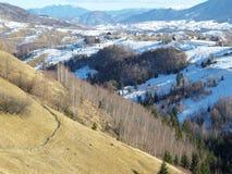 krajobrazowy Romania Zdjęcie Stock