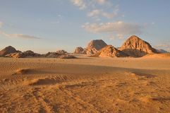 krajobrazowy rumowy wadi Zdjęcia Stock