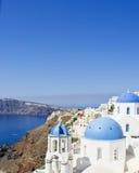 Krajobrazowy Santorini Fotografia Stock