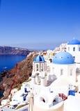 Krajobrazowy Santorini Zdjęcia Royalty Free