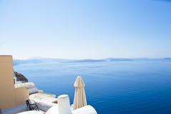 Krajobrazowy Santorini Obraz Royalty Free
