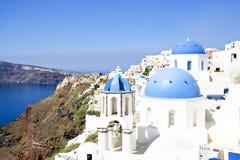 Krajobrazowy Santorini Obraz Stock