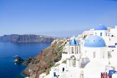 Krajobrazowy Santorini Fotografia Royalty Free
