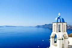 Krajobrazowy Santorini Zdjęcie Stock