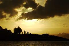 krajobrazowy scandinavian Zdjęcie Royalty Free